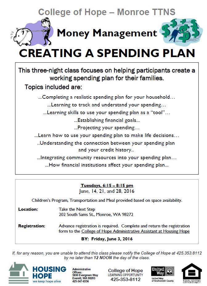 Creating a Spending Plan 1